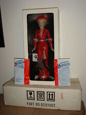 Franklin Mint Marilyn Monroe Gentlemen Prefer Blondes Vinyl Doll New with COA.