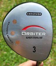 """Endeavor Orbiter Copper Tungsten Super Stainless RH 43.5"""" 3 Wood Graphite Shaft"""