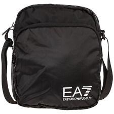 EMPORIO ARMANI EA7 MEN'S CROSS-BODY MESSENGER SHOULDER BAG NEW BLACK 044