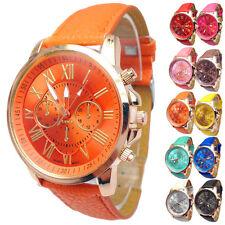 Mode Uhr Damen Edelstahl Armbanduhren Analog Quartzuhr Wählen Wrist Watch Luxus