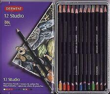 Derwent Studio in Metallbox 12 Stück 196