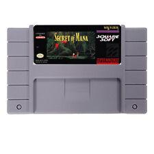 Secret of Mana (SNES, 1993) NTSC FREE SHIPPING WORLDWIDE