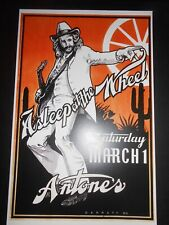 Ray Benson Asleep At the Wheel Show Poster @ the world famous Antone's Austin Tx