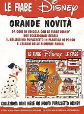 X1979 La Carica dei 101 - Le Fiabe Disney - Pubblicità del 1996 - Vintage advert