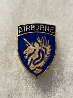 Authentic WWII US Army 13th Airborne Division DI DUI Unit Crest Insignia NH