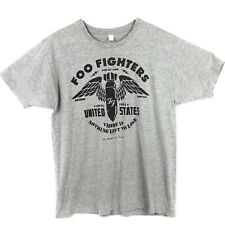 Foo Fighters Concert Tour T Shirt Xl Nothing Left To Lose One By One Band Tee
