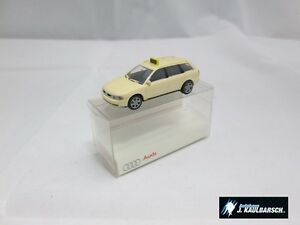 Original Audi A4 Avant TAXI Modellauto 1:87 Rietze NEU Sammler