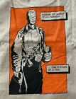 NEW Vintage Alton Brown Gear Good Eats T-Shirt T Shirt Size L BROWN 100% Cotton