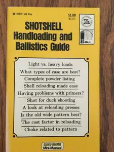 1973 Guns & Ammo Shotshell Handloading and Ballistics guide, Reloading Data