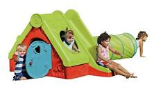 Playhouse Slide Child And New Tunnel Garden Kids Outdoor Chad Valley Funtivity