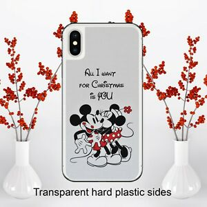 Disney All I Want For Christmas Is You Case Cover iPhone Samsung Huawei Google