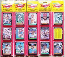 TEN COUNT LOT OF 1987 DONRUSS BLISTER RACK PACKS - 750 CARDS; MADDUX, BONDS
