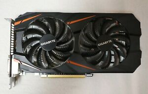 GIGABYTE, NVIDIA GeForce GTX 1060, Graphics Video Card (GV-N1060WF2OC-3GD)