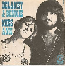 """45 TOURS / 7"""" SINGLE--DELANEY & BONNIE--MISS ANN / THEY CALL IT ROCK & ROLL..."""
