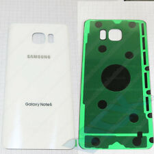 WHITE Samsung Galaxy Note 5 Mobile Phone Back Rear Battery Cover Housing Panel