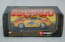 Porsche 911 Carrera Racing - 1 Shell RTL Pirelli - Bburago 1560 - 1:24 - OVP
