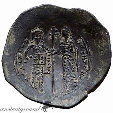 Sacrce Byzantine Alexius I Comnenus Constantinople Aspron Trachy
