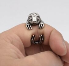 Sloth Adjustable Ring Animal Mothers Day Gift For Her