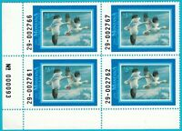 1991 Montana State Duck Stamp Plate Block MNH