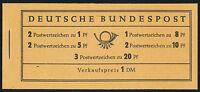 BUND 1960, MH 4 Y II, RLV I, tadellos postfrisch, Mi. 100,-