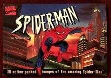 SPIDER-MAN, THE POSTCARD BOOK, RUNNING PRESS, 1995, 30 POSTCARDS