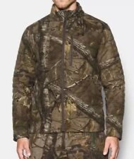 09acfdcf2a8d3 UA Under Armour Stealth Extreme Wool Camo Hunting Jacket 1297437 946 Large  $300