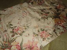 VINTAGE RALPH LAUREN GUINEVERE ARAGON TAILORED VALANCE FLORAL GREEN ROSE 80 X 16