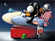 Space Cadets by Doug Hyde, Mounted Limited Edition