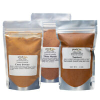 Indian Masala Bundle (3-Pack) | Organic Curry Powder, Tikka Masala & Tandoori