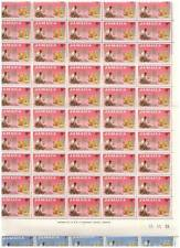 38271A) JAMAICA 1963 MNH** Freedom from hunger 2v block of 50 sets