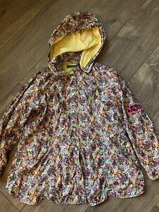 Girls Oilily Raincoat Jacket Age 10 Years