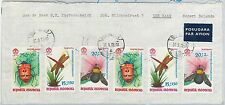 62929  - INDONESIA - POSTAL HISTORY - COVER to HOLLAND  1972 -  INSECTS
