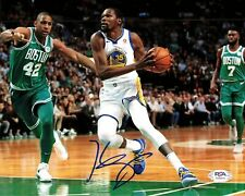 Kevin Durant signed 8x10 photo PSA/DNA Golden State Warriors Autographed