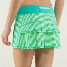 Lululemon Run: Pace Setter Skirt (Regular) *4-way Stretch EUC Sz. 10