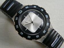 1997 Scuba 200 Swatch Watch Silver Exit  SDK132