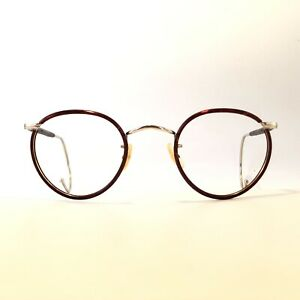 Glasses Vintage Algha Panto Sports Windsor Ring Round 42/22 130 N.Approx. 1940