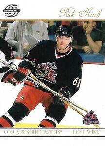 Rick Nash Columbus Blue Jackets 2004 Supreme Hockey Card