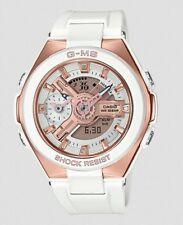 Casio Baby-G * G-MS MSG400G-7A Rose Gold & White Resin Women COD PayPal