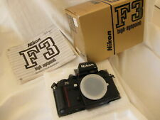 Nikon F3HP  F3 HP body, very clean, Mint-  boxed, IB