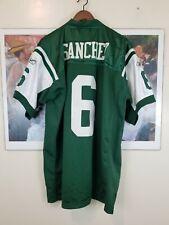 NFL NY Jets Green Reebok Mark SANCHEZ #6 STITCHED Jersey 100% Polyester 52 NEW