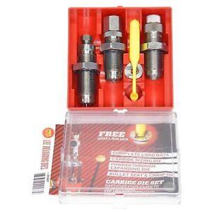 Lee Precision Carbide 3 Die Set 9MM Luger 90509