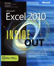 Inside Out: Microsoft® Excel® 2010 by Mark Dodge, Craig Stinson and Douglas Sti…