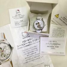 Sanrio Hello Kitty See through Jewelry Watch with Diamond Luxury Accessories