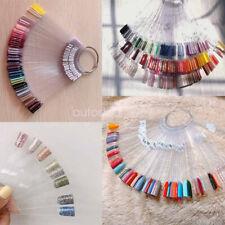 2set/100pcs Nail Swatches Sticks Manicure DIY Supplies for Nail Art Display