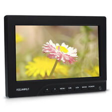 "FEELWORLD FW689-HD 7""HD Monitor On Camera 1080P HDMI Sunshade for Video 5D III"