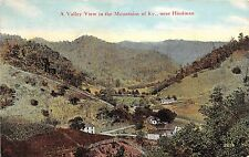 Kentucky Ky Postcard c1910 HINDMAN Valley View in the Mountains Homes