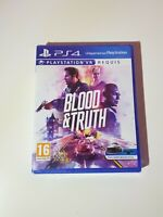 Blood & Truth - Sony PlayStation 4 (Ps4) Neuf Sous Blister New And Sealed