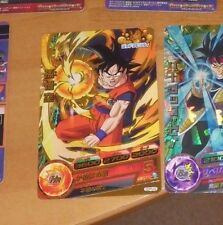 DRAGON BALL Z DBZ DBS HEROES CARD CARTE GDPB-22 PROMO GOLD MADE IN JAPAN NM