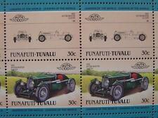 1935 ASTON MARTIN ULSTER Car 50-Stamp Sheet / Auto 100 Leaders of the World