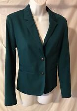 "Women's Forest Green ""Boyfriend"" Blazer by Banana Republic (02792)"